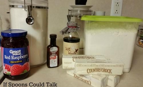 thumbprint cookie ingredients
