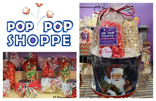 Popcorn is great for Christmas. With over 27 flavors Pop Pop Shoppe has a flavor for everyone. Enter for a chance to win a gift basket of gourmet popcorn.