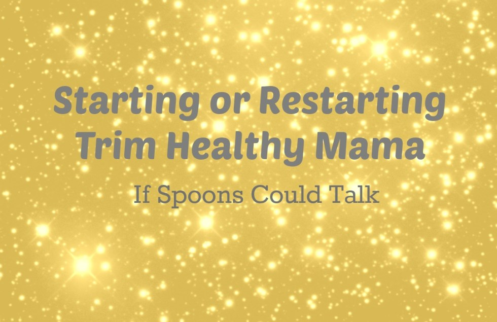 Are you wanting to start Trim Healthy Mama or do you need to get back on plan after the holidays? Here are tips that will help you reset your body and get on the right track.