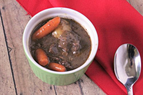 This THM Beef Stew recipe is perfect for cold winter days. Put everything in a dutch oven and let it simmer for a few hours, the house will smell great.