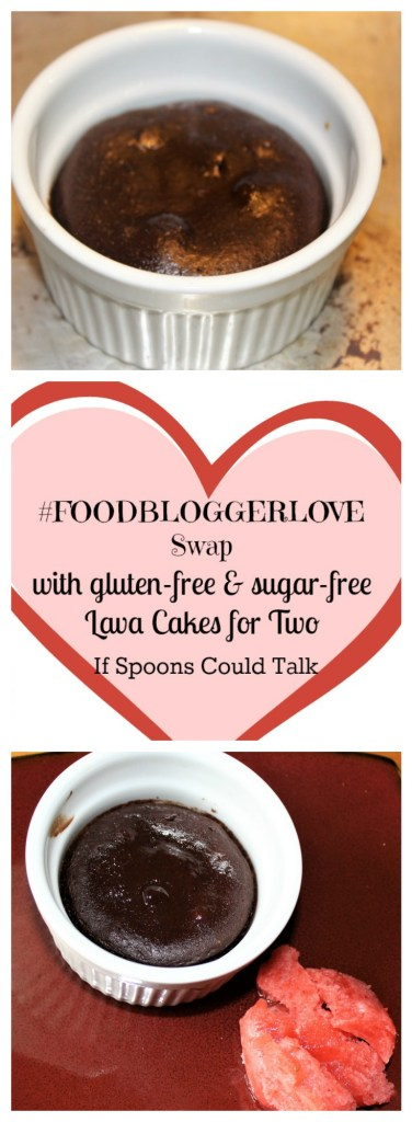 Gluten-Free Sugar-Free THM S Lava Cakes for Two. A great Valentines day treat with zero guilt. #foodbloggerlove