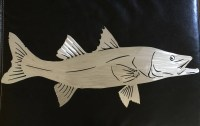 Metal Gamefish artist reveals works: Fish Wall Art, Snook ...