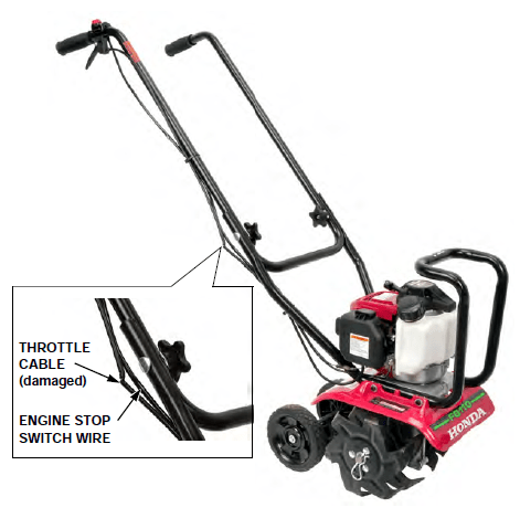 Lawn Tractor: Product Safety Recall: Honda FG110 Mini-Tiller