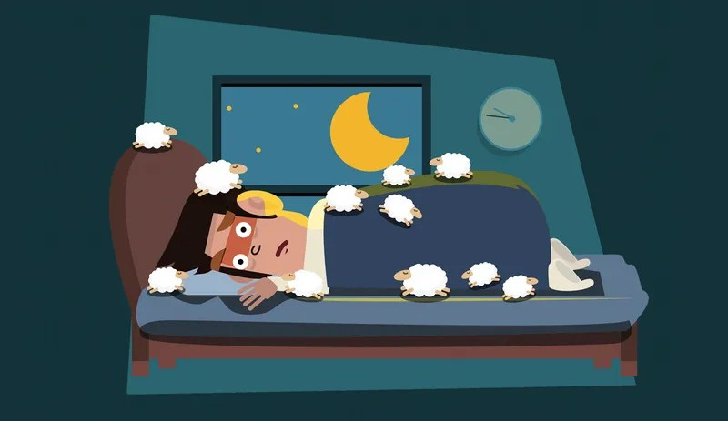 why insomnia happens and