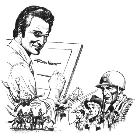 National Cartoonists Society honors RUss Heath with the
