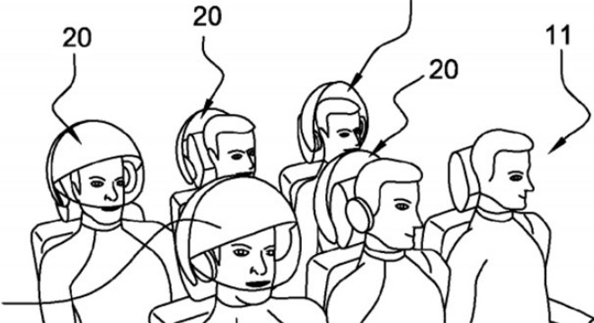 Airbus Patents a VR Helmet That'll Make You Forget You're