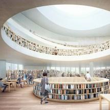 Interior Design Library Architecture