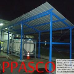 Kanopi Baja Ringan Cibitung Konstruksi Spandex Cnp Di Kawasaki Motor
