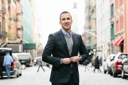 Harvey Spevak. C.E.O. of Equinox. Has a Sporty Style by BEE SHAPIRO | Matt Crowe 's Blog