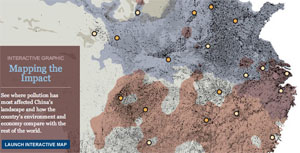 Mapping the Impact of China's Pollution Crisis