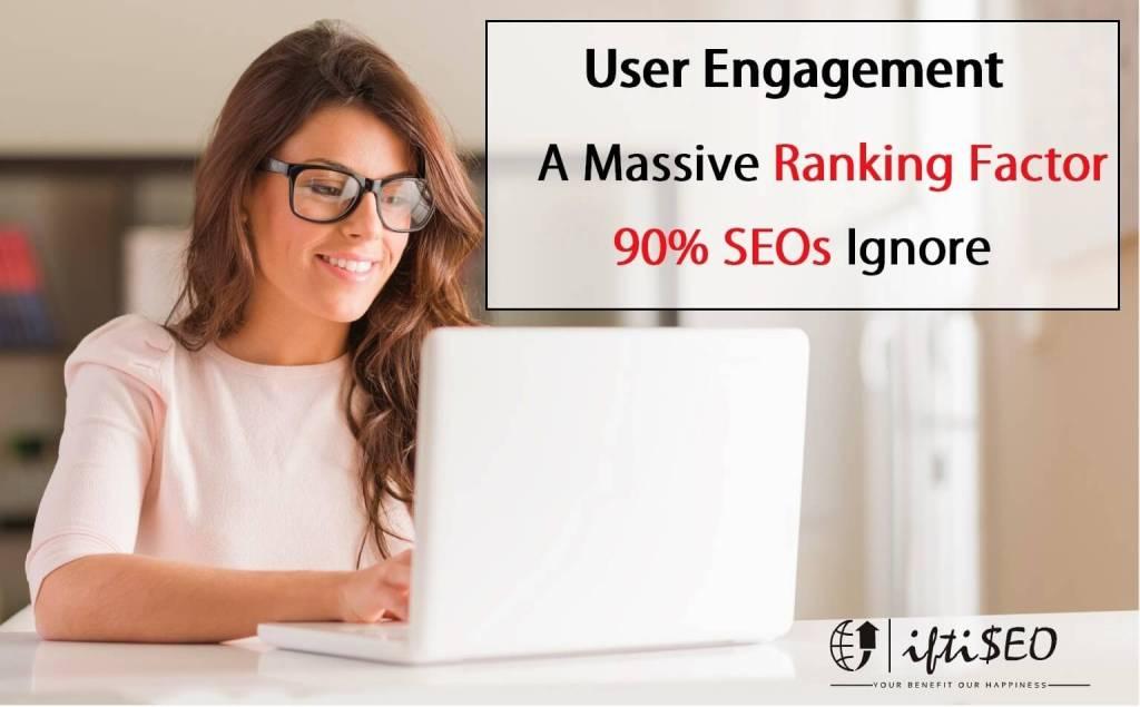 user engagement factor SEO