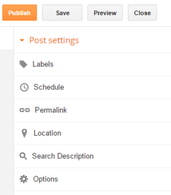 Configure your post settings properly