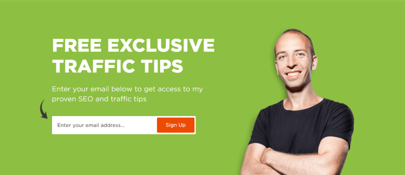 Home Page of Backlinko