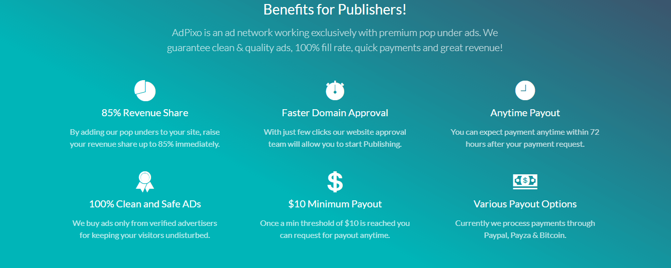 Benefits for Publishers