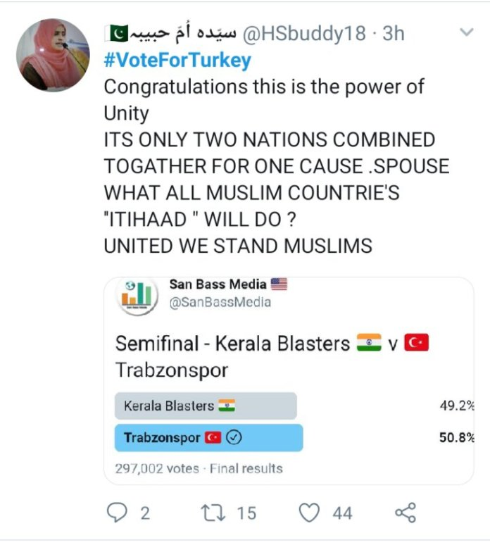 Indian football: When a poll between an Indian and a Turkish club ended up trending in a third country. img 20200423 165058523171303206715481