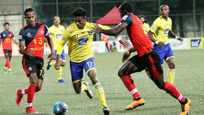 Indian Player of the Season - Jamshedpur FC Farukh Choudhary at Mumbai FC
