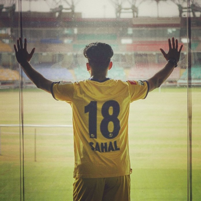 Sahal signs contract extension with Kerala Blasters - Official 58994680 2280701638852442 5220853707461592314 n