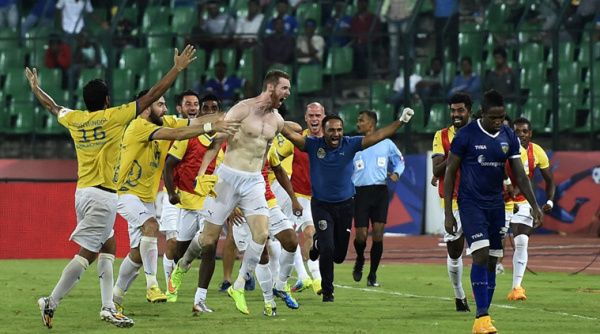 A night at Chennai 2014 - Unforgettable memory for all the Kerala Blasters fans isl m