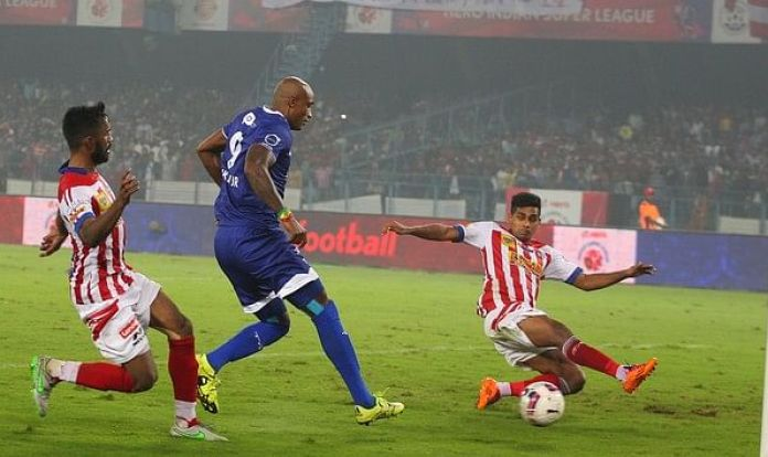 Top 5 ISL Matches with Highest Attendance fikru goal isl semi final chennaiyin fc atletico de kolkata 1450280620 800