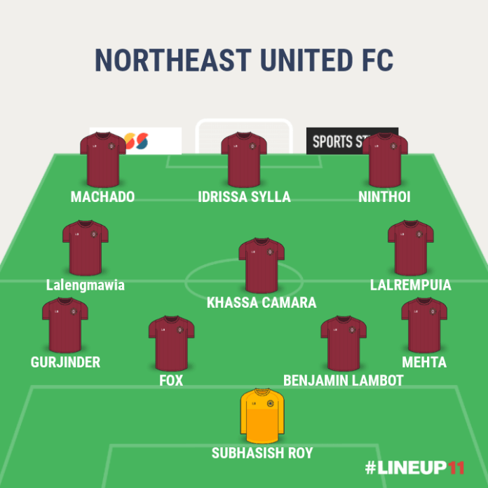 Match Preview - North East United FC vs FC Goa LINEUP111606047195023