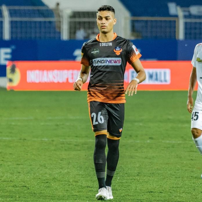 Goan striker Ishan Pandita