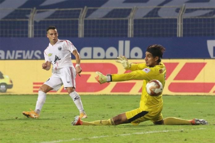 Player Ratings - Bengaluru FC vs NorthEast United FC Luis Machado Sandhu ISL 7 570 850