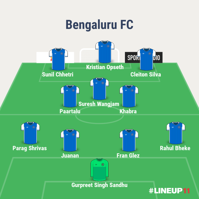 Match Preview: Kerala Blasters FC vs Bengaluru FC, Injuries, Team News, Predicted Line-Up, And More LINEUP111611117014163