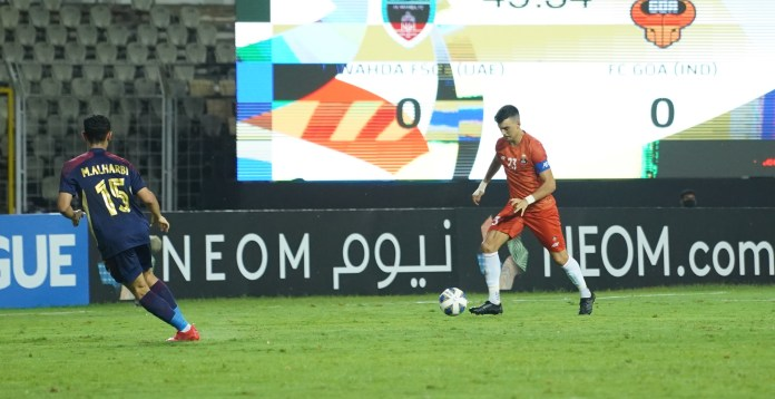 Juan Ferrando - Our plan will be better than the last game Edu Bedia controls the ball FC Goa va Al Wahda AFC Champions League 2021