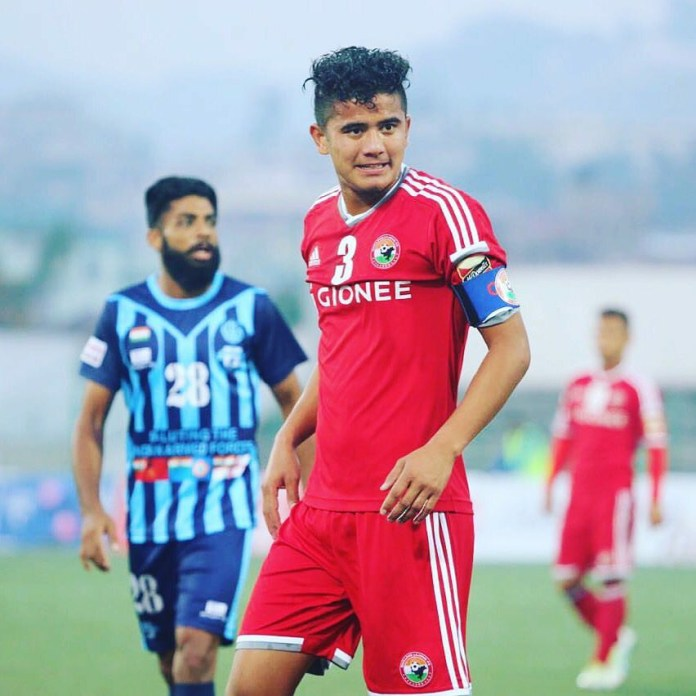 ISL - Nim Dorjee Tamang in advanced talks with Hyderabad FC nim dorjee29 BW5MJhynwY4