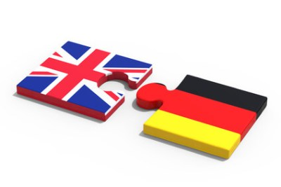 Partnership between Germany and Great Britain / 3D Rendering