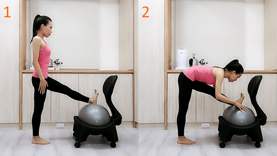 Stretching-the-back-of-the-thigh