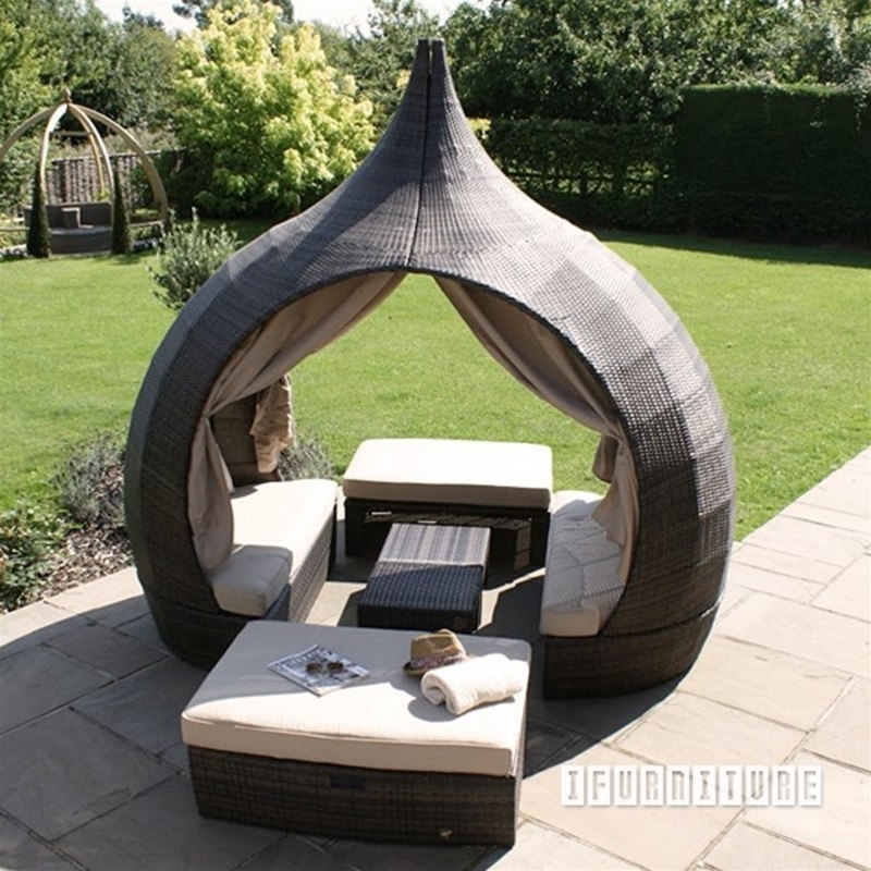 urbana arch outdoor patio daybed
