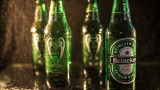 Heineken-Packshot-Fotografieren