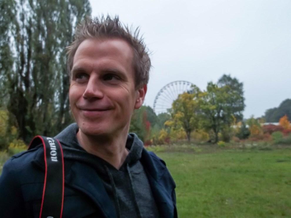 Lars auf Fototour in Berlin