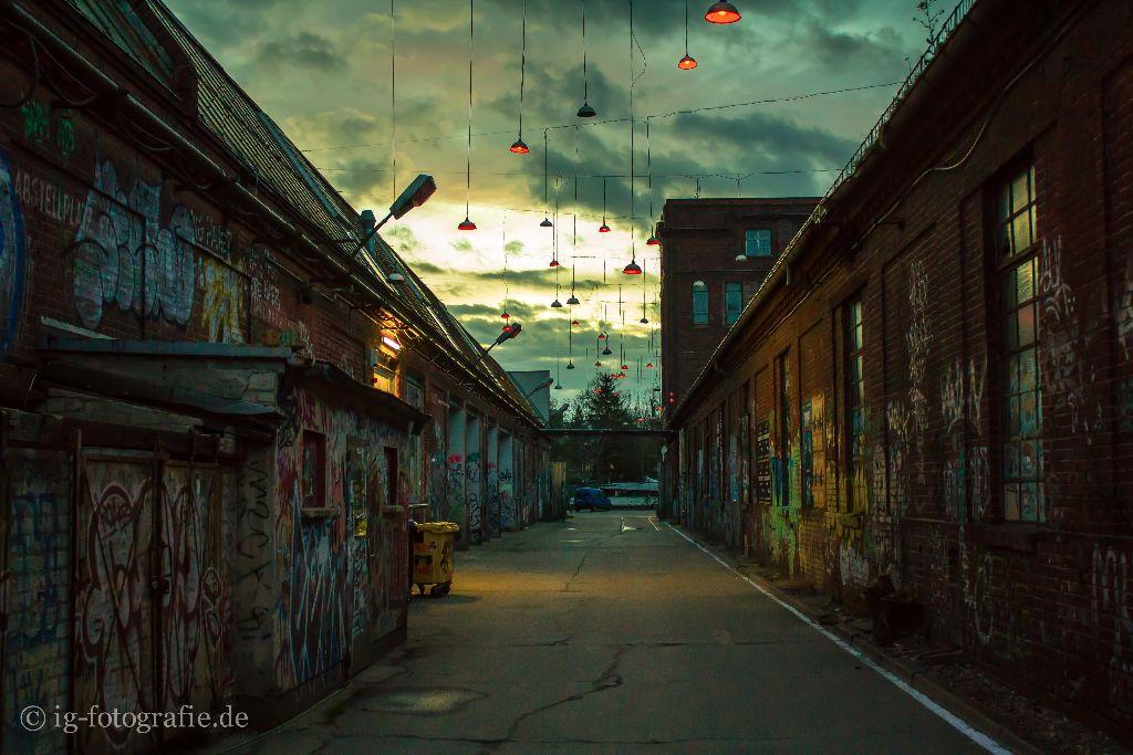 foto des tages - lights from the sky - lars poeck -