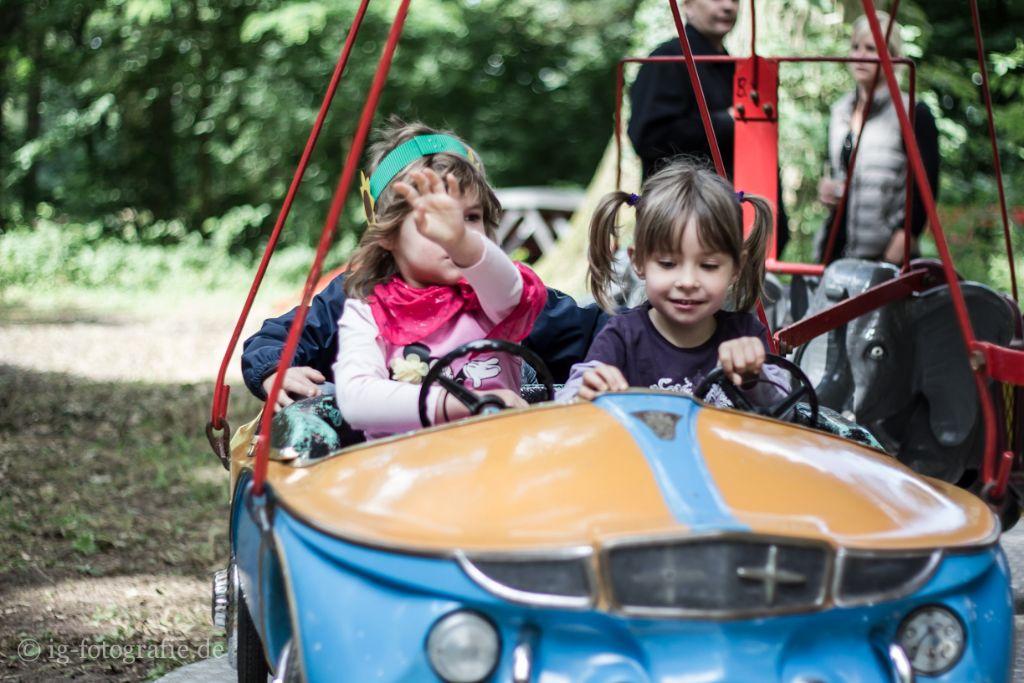 Kinderschuetzenfest Gartow: Karussellfahren