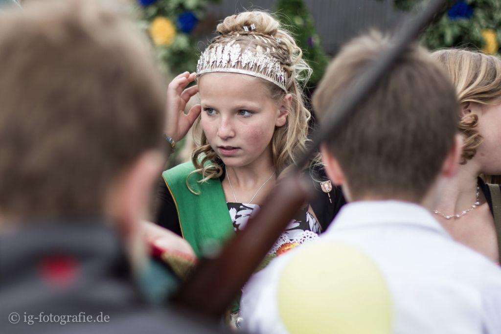 Kinderschuetzenfest Gartow: Die Königin