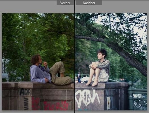 Vintage Dia Lightroom Preset