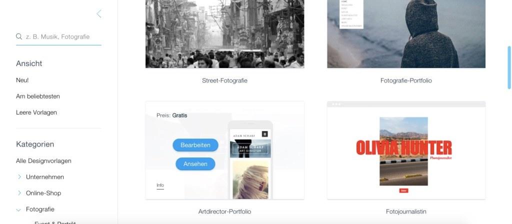 Homepage-Baukasten-Fotografen