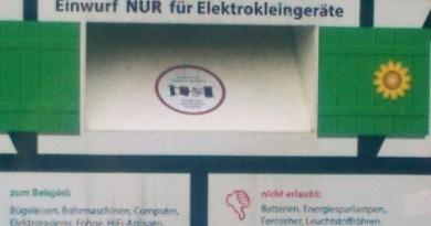 Elektroschrottcontainer