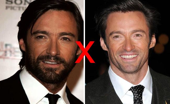 Resultado de imagem para sem barba com barba