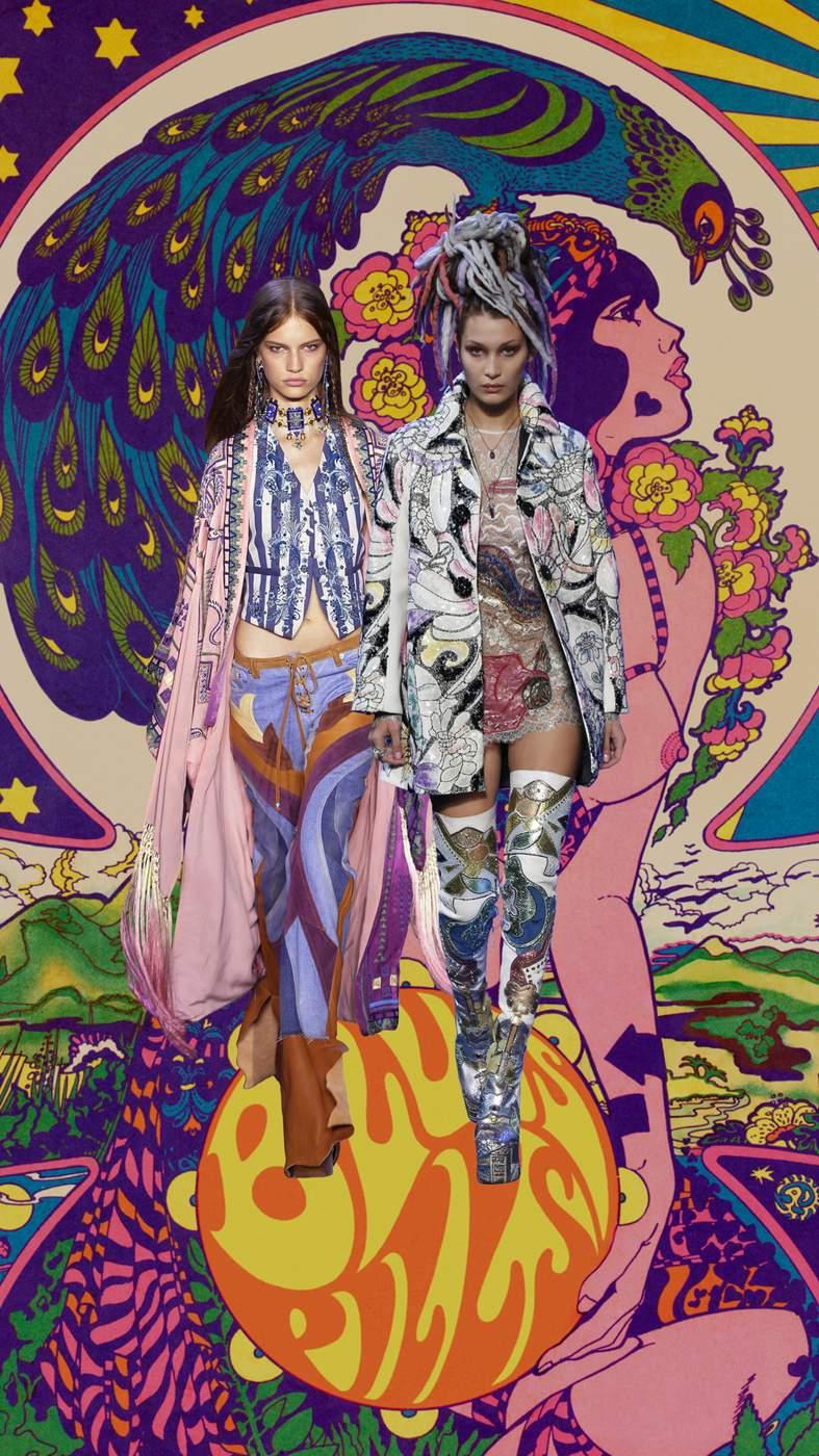 Wallpaper Hippie Girl The Art Of Fashion Ss17