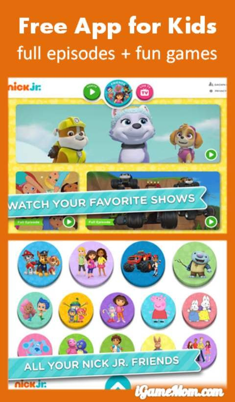 Youtube Tv Nick Jr : youtube, Watch, Shows