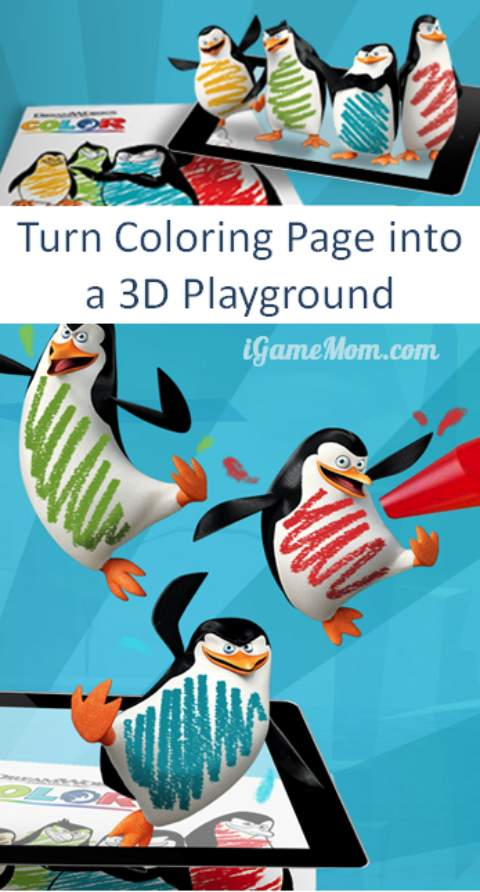 Turn Coloring Pages Into 3d Playground