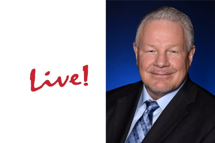 Cordish Gaming Group Names Sean Sullivan As General Manager Of New $150 Million Live! Casino