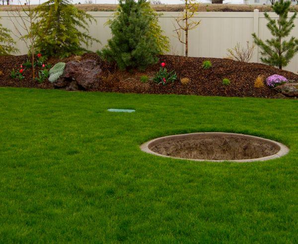 landscaping ideas wet backyard