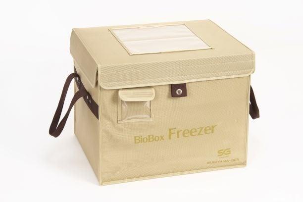 ドライアイス対応超高性能断熱ボックス「BioBox Freezer」