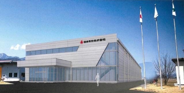 日本電熱 安曇野本社工場新棟