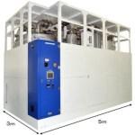 日本パイオニクス ガス精製装置