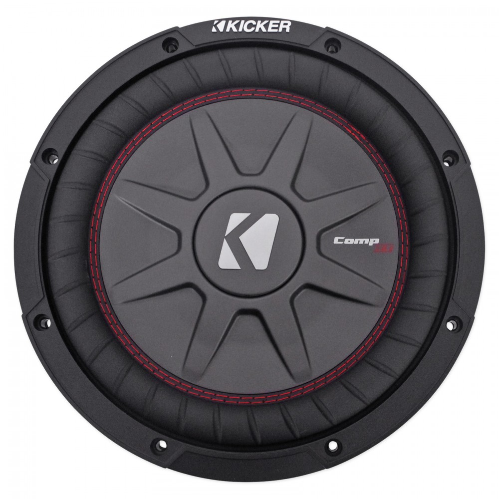 hight resolution of 43cwrt102 kicker 10 subwoofer dual voice coil 2ohm 400w extra freight item